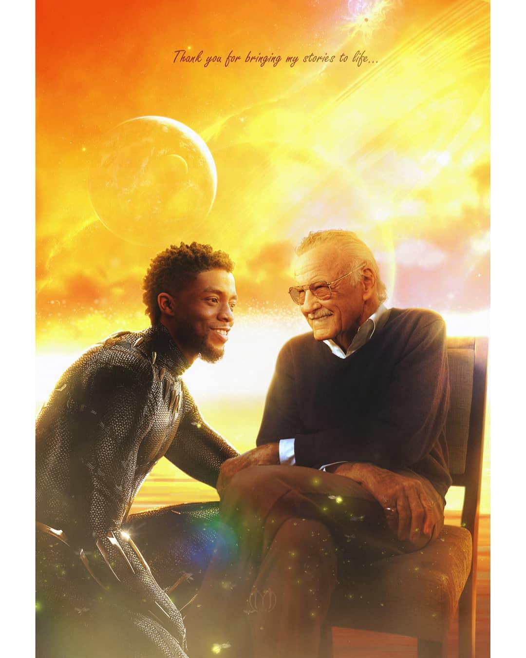Imagem de Chadwick Boseman, o Pantera Negra, quebra o coração de fãs - 1
