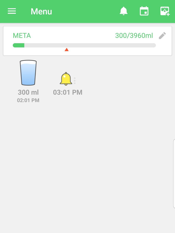 Melhores aplicativos para lembrar de beber água - 2
