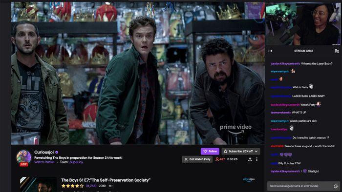 Twitch agora permite assistir filmes e séries do Amazon Prime Video com público - 1