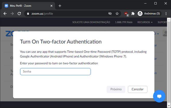 Zoom agora protege contas com autenticação em duas etapas; saiba como ativar - 4