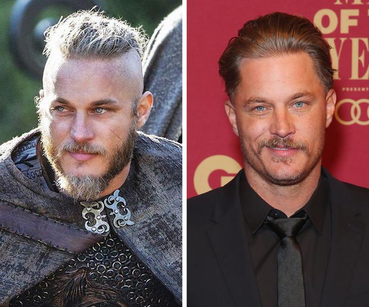 Muito diferentes: Veja como são os atores de Vikings na vida real - 1