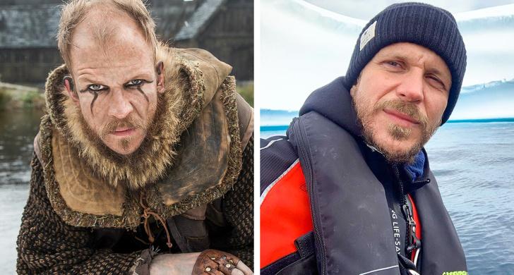 Muito diferentes: Veja como são os atores de Vikings na vida real - 3
