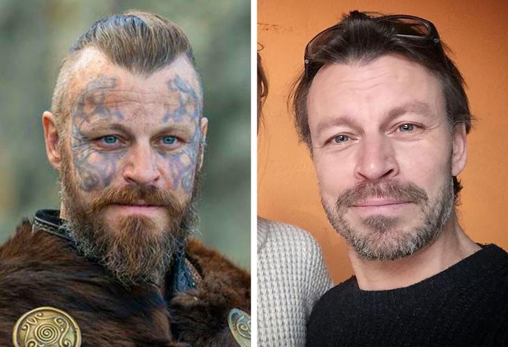 Muito diferentes: Veja como são os atores de Vikings na vida real - 4