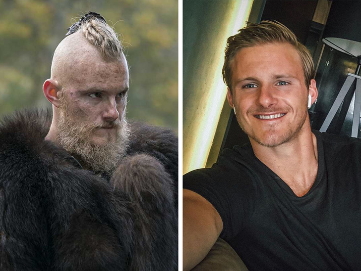 Muito diferentes: Veja como são os atores de Vikings na vida real - 5