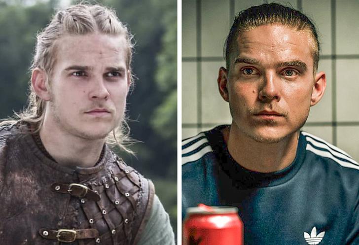 Muito diferentes: Veja como são os atores de Vikings na vida real - 7