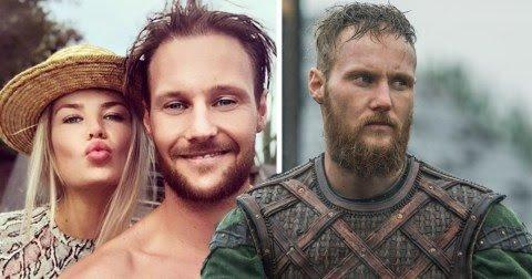 Muito diferentes: Veja como são os atores de Vikings na vida real - 8