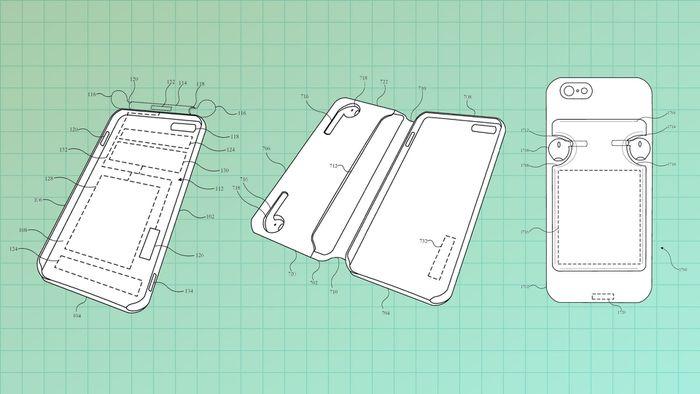 Apple patenteia capas de iPhone que recarregam os AirPods - 1