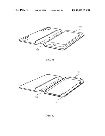 Patente Apple capa AirPods