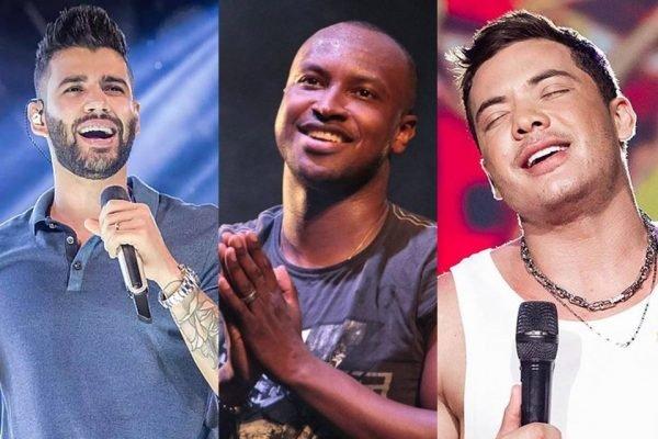 Wesley Safadão, Kevinho e Gusttavo Lima estiveram na polêmica festa de Neymar - 1