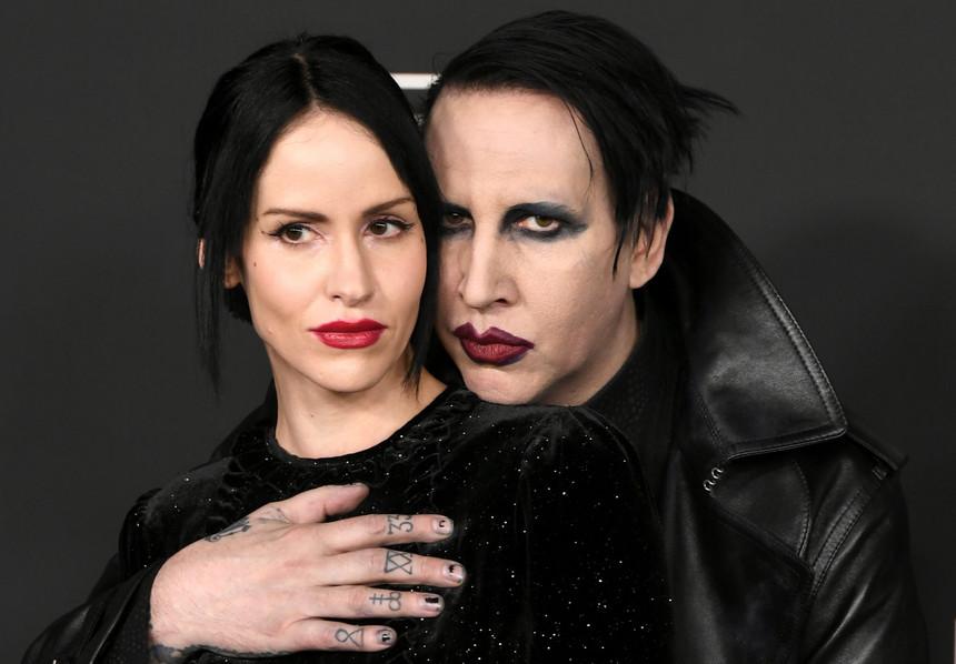 Ex-assistente revela que viu Marilyn Manson ameaçar sua atual esposa de morte - 1