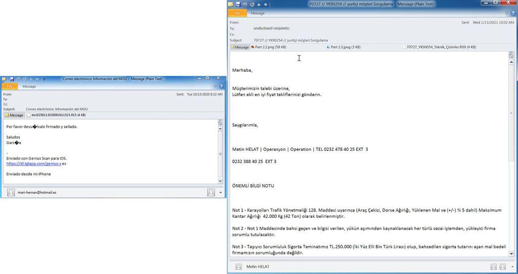 Malware que chega por e-mail rouba credenciais armazenadas em navegadores - 2