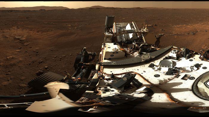 Veja a 1ª foto panorâmica em 360º de Marte registrada pelo rover Perseverance - 1
