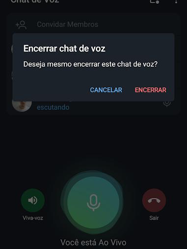Como criar e usar os chats de voz do Telegram - 10
