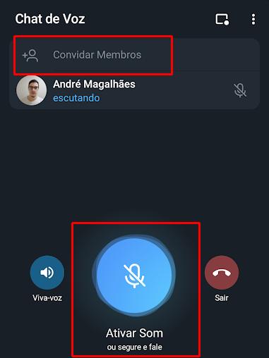 Como criar e usar os chats de voz do Telegram - 5