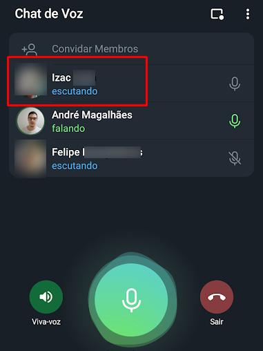 Como criar e usar os chats de voz do Telegram - 7