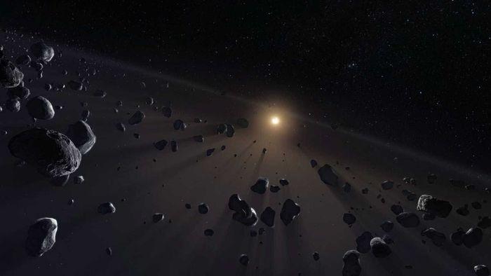 Asteroides primordiais podem ter nascido em turbilhões de poeira protoplanetária - 1