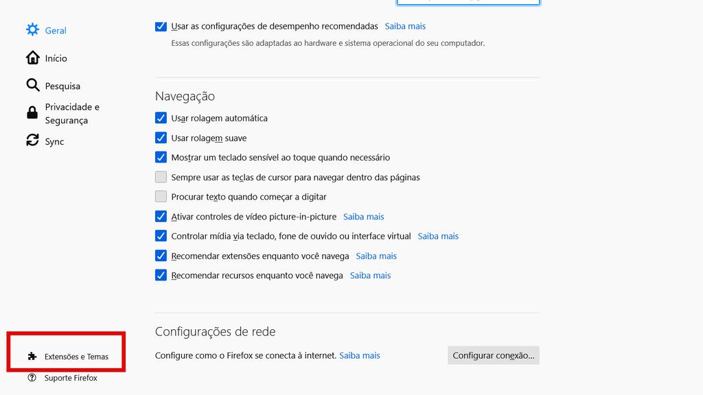 Como ativar o modo escuro no Firefox no PC e celular - 6