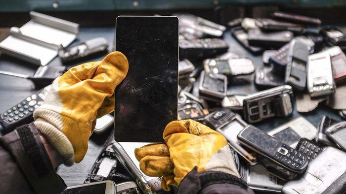 Como descartar celulares antigos corretamente - 1