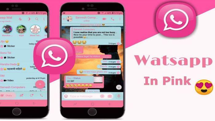 É falso! Suposta versão rosa do WhatsApp pode roubar dados do celular - 1