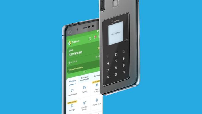Pagphone: dispositivo funciona como smartphone e maquininha de cartões - 1