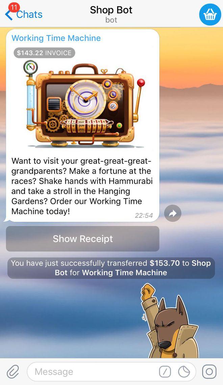 Telegram testa venda de produtos e pagamento dentro do próprio app - 3