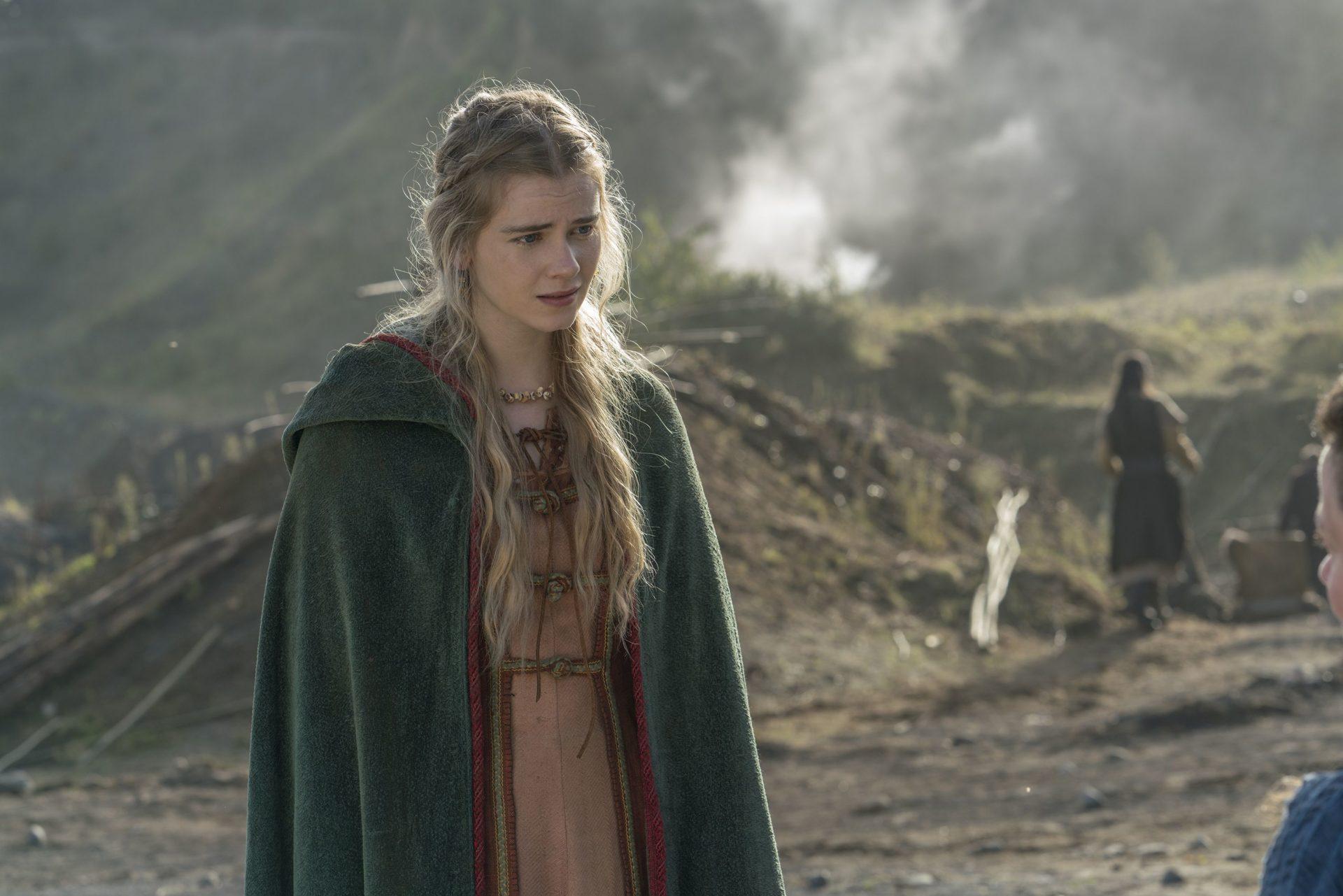 Atriz defende polêmico fim de personagem em Vikings - 1