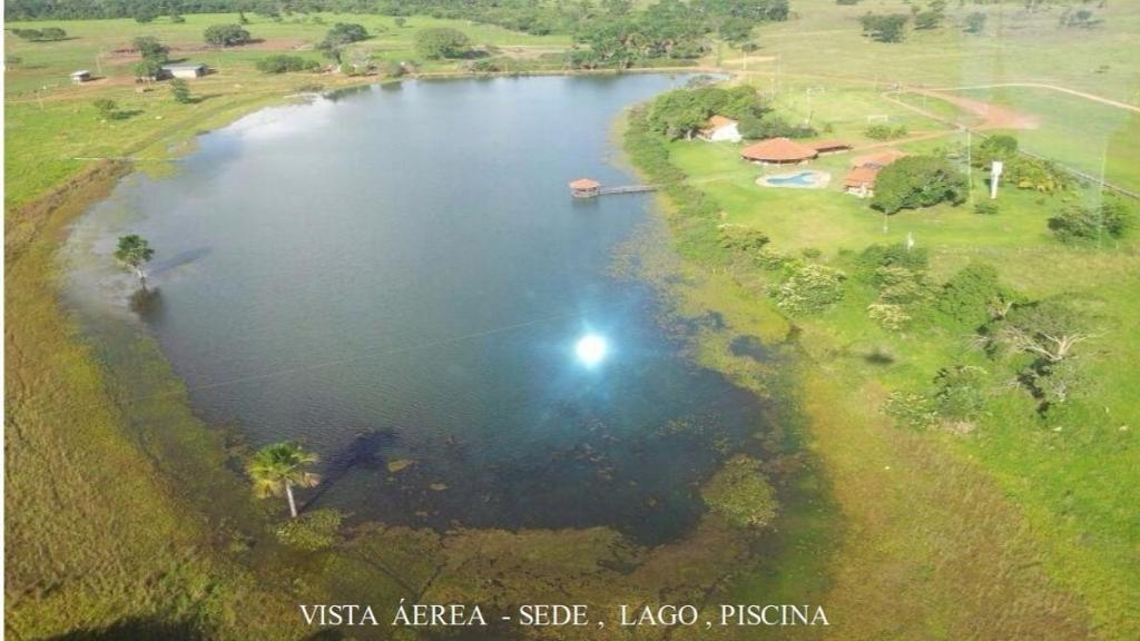 As propriedades de Amado Batista ficam em Cocalinho (MT) - Reprodução/Imovelweb