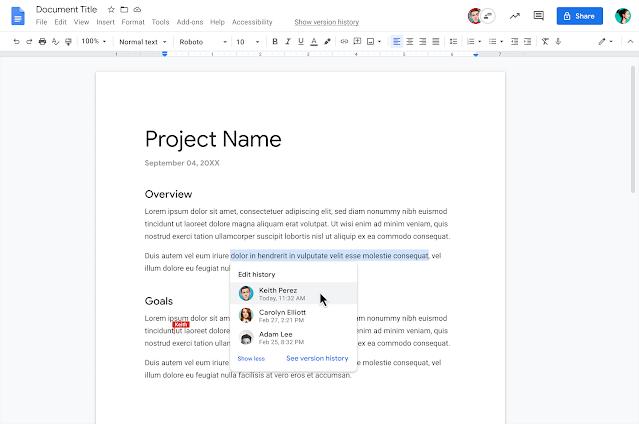 Novo recurso do Google Docs melhora o gerenciamento de trabalhos coletivos - 2