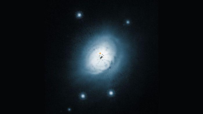 Pela primeira vez, astrônomos encontram metanol em disco protoplanetário quente - 1