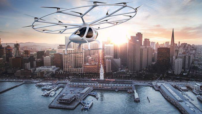 Táxi voador elétrico Volocopter deve começar em breve a ser produzido em massa - 1