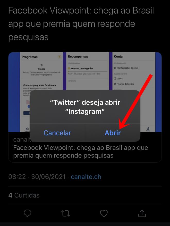 Chega de prints! Como compartilhar um tweet no Stories do Instagram - 4