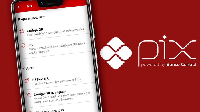 Como criar um QR Code para receber pagamentos via Pix no Santander - 1