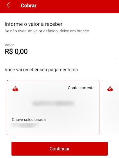 Como criar um QR Code para receber pagamentos via Pix no Santander - 4