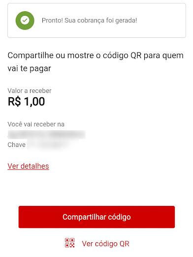 Como criar um QR Code para receber pagamentos via Pix no Santander - 6