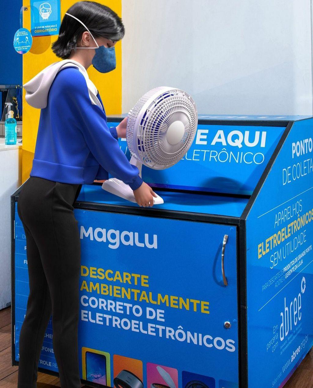 Magalu anuncia iniciativa para coleta de lixo eletrônico em lojas pelo Brasil - 2