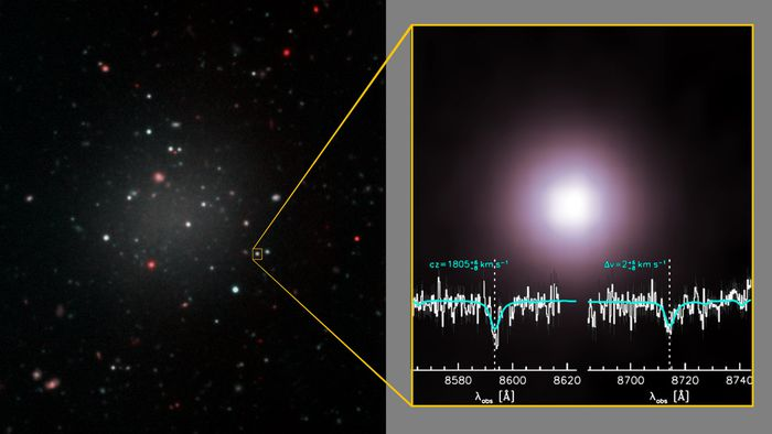 Mistério de galáxia sem matéria escura volta a