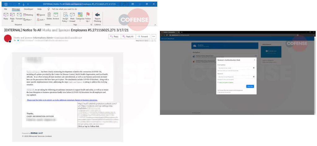 Reabertura de escritórios é o foco de nova campanha de malware - 2