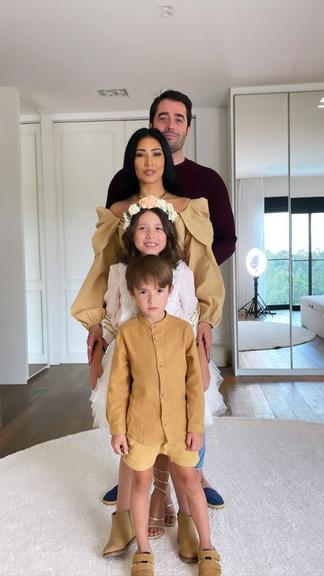 """Simaria surge em belas fotos com filhos e marido: """"Família mais linda"""" - 3"""