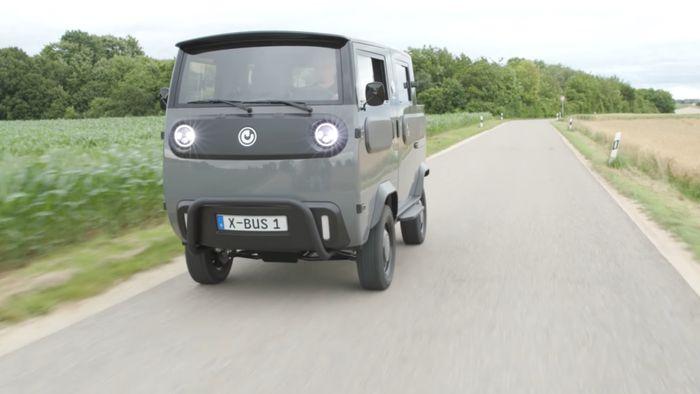 Conheça o XBus, carro elétrico que pode virar picape, furgão e até motorhome - 1