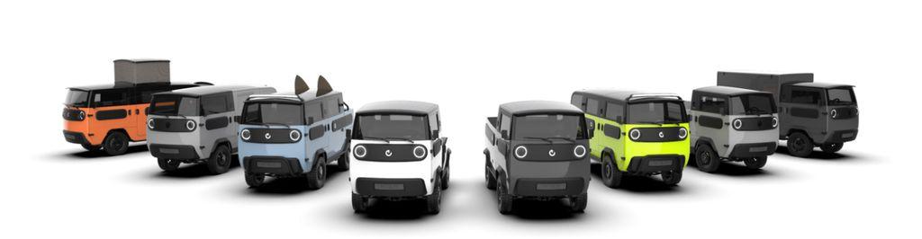 Conheça o XBus, carro elétrico que pode virar picape, furgão e até motorhome - 2