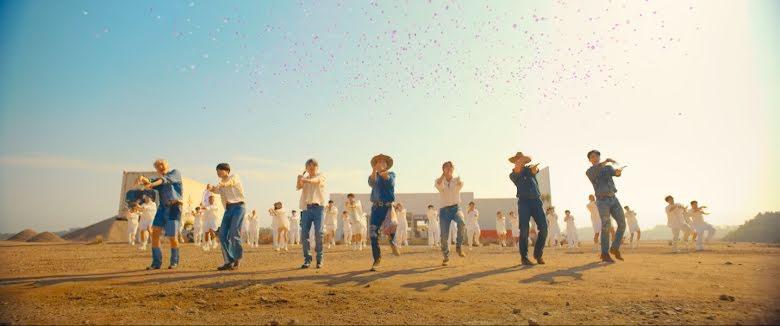"""Fãs elogiam BTS por se preocupar com a natureza no MV de """"Permission To Dance"""" - 1"""