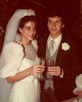 Veja fotos raras do casamento de Narcisa Tamborindeguy e Boninho - 3