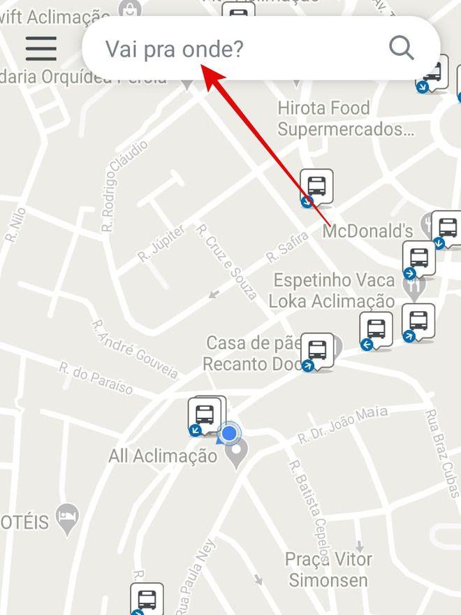 CittaMobi: como usar o app para ver horários de ônibus - 4
