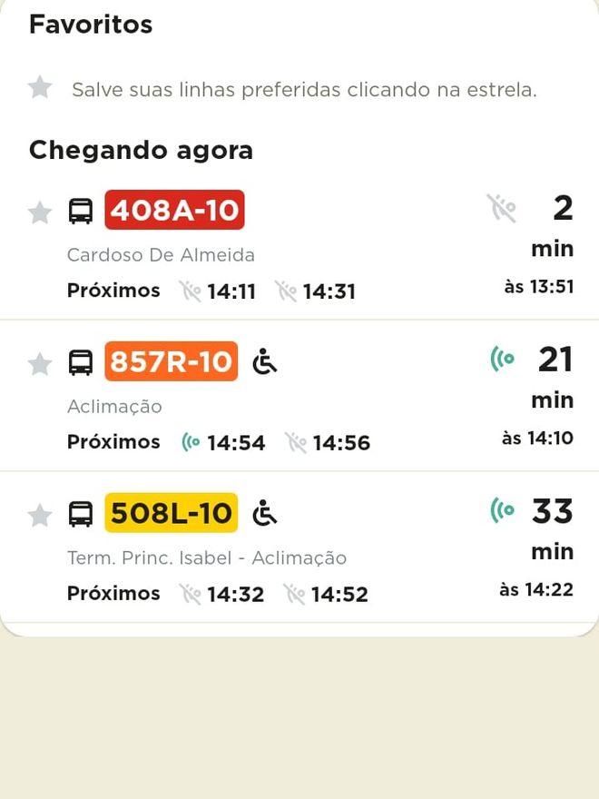 CittaMobi: como usar o app para ver horários de ônibus - 8
