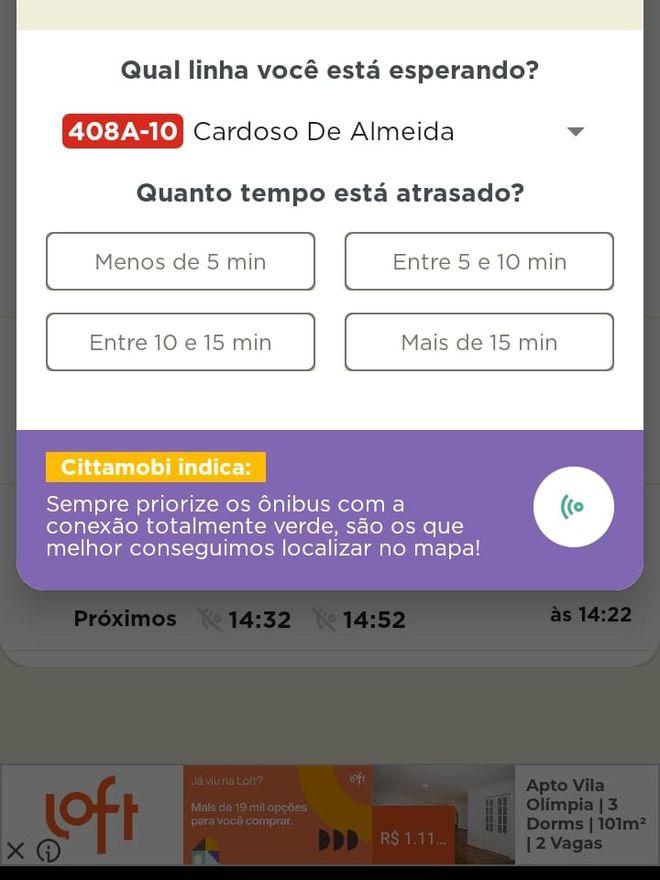 CittaMobi: como usar o app para ver horários de ônibus - 9