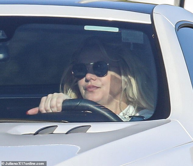 Spotted: Just hours after it was revealed that Britney Spears