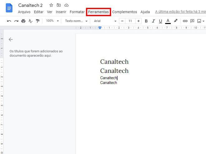Como comparar dois documentos usando o Google Docs - 2