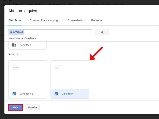 Como comparar dois documentos usando o Google Docs - 5