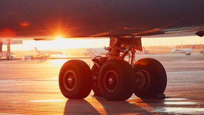 Como funciona o freio de um avião? - 1
