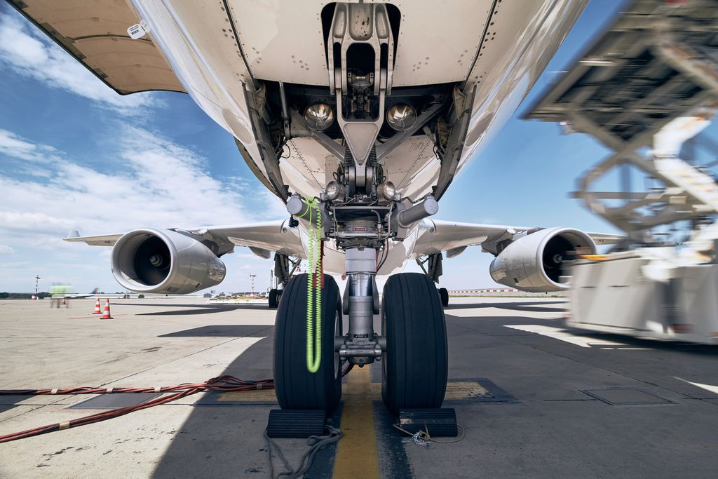 Como funciona o freio de um avião? - 2